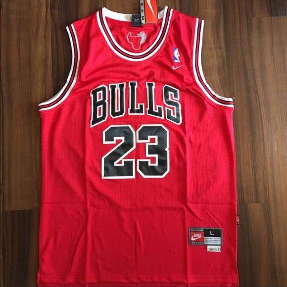 big sale e1090 e10aa Nike #23 Michael Jordan Chicago Bulls Jersey NWT